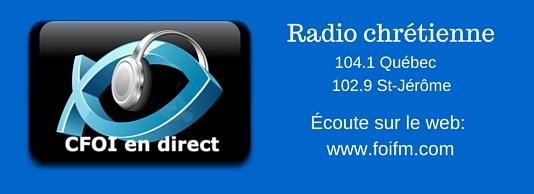 Radio chrétienne
