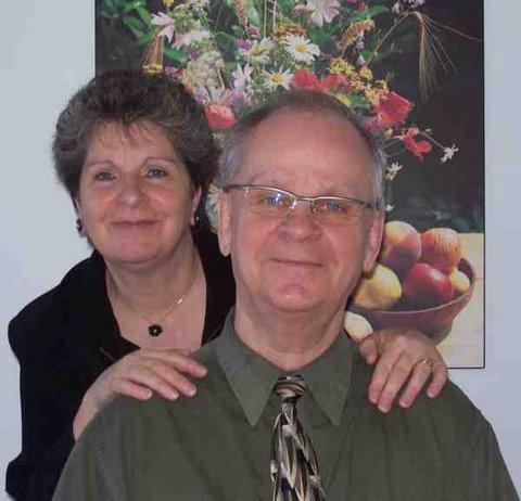 Le pasteur Marcel Longchamps et son épouse Lucie