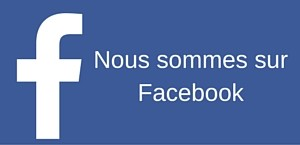 Nous sommes surFacebook